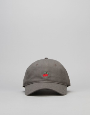 Route One Cherries Cap - Charcoal