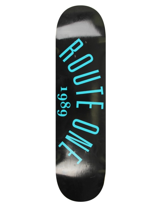Route One Arch Logo Skateboard Deck - 7.75""