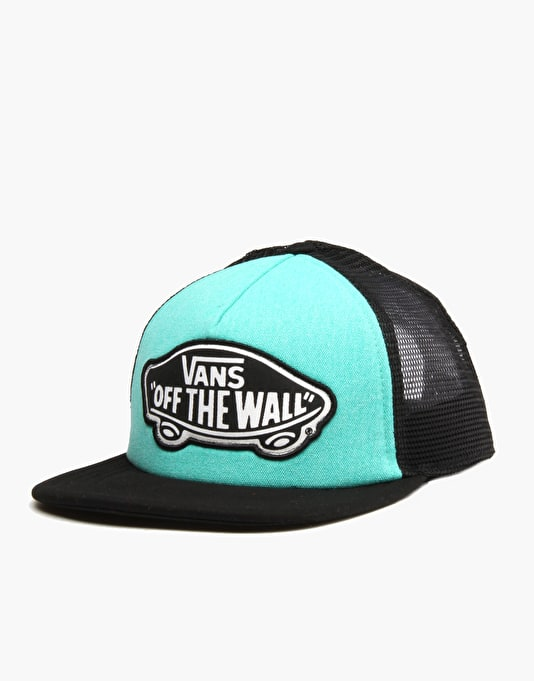Vans Beach Trucker Cap - Pool Green