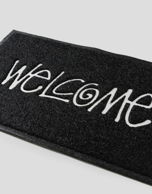 Stüssy PVC Welcome Mat - Black