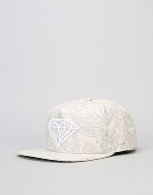 Diamond Supply Co. Radiant 5 Panel Cap - Cream