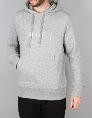 HUF Open Bar Pullover Hoodie - Grey Heather