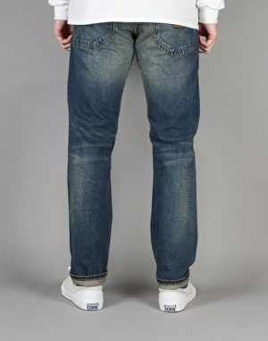 Carhartt Klondike Denim II - Blue Sand Washed