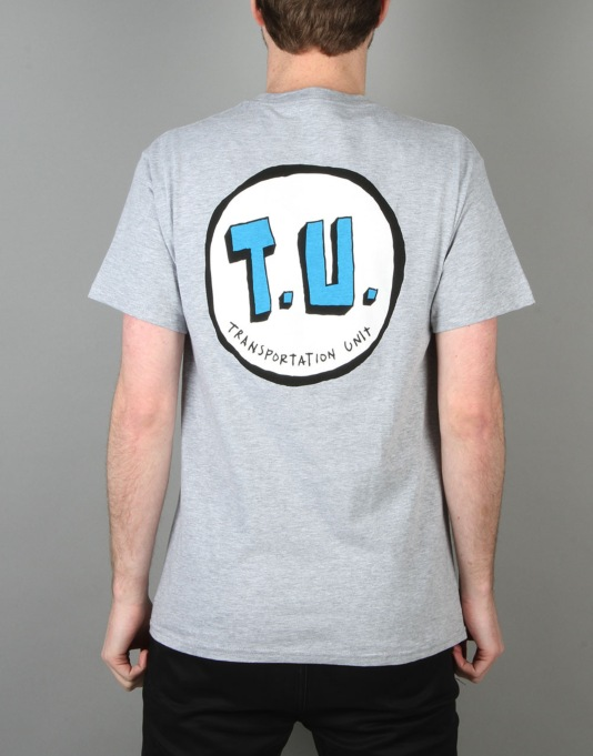 Transportation Unit Classic T.U T-Shirt - Heather Grey