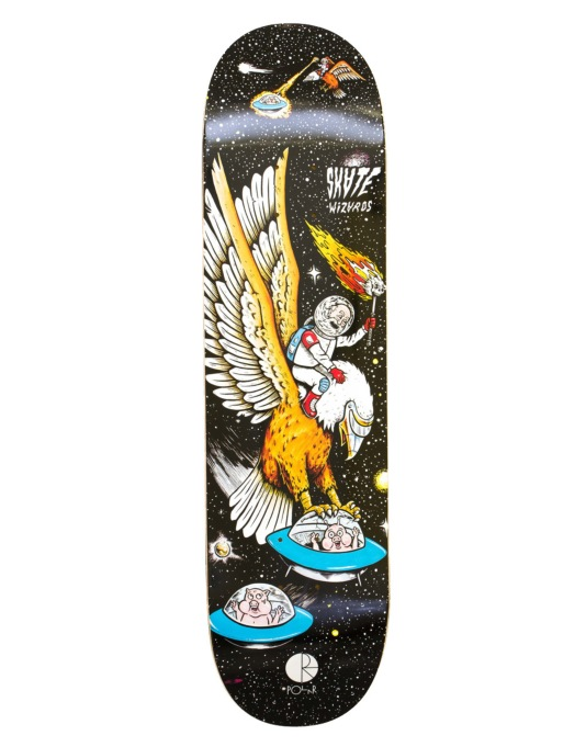 Polar Skatewizards Team Deck - 8""