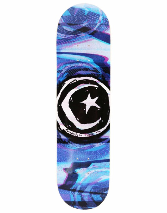 Foundation Star & Moon Glitch Team Deck - 8.25""