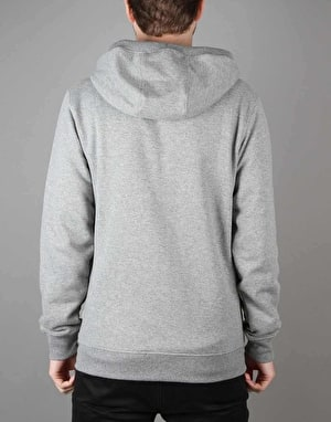 Vans Classic Zip Hoodie - Concrete Heather/Poseidon