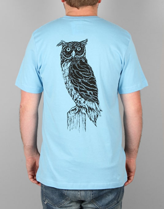 Welcome Black Beak T-Shirt - Blue/Black