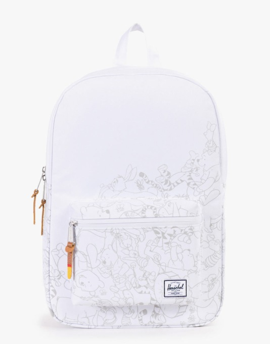 Herschel Supply Co. x Disney Settlement Mid-Volume Backpack - White
