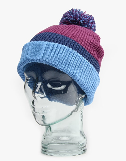 Burton What's Your 9er? Beanie - Double Cup/Boro/Blue Steel