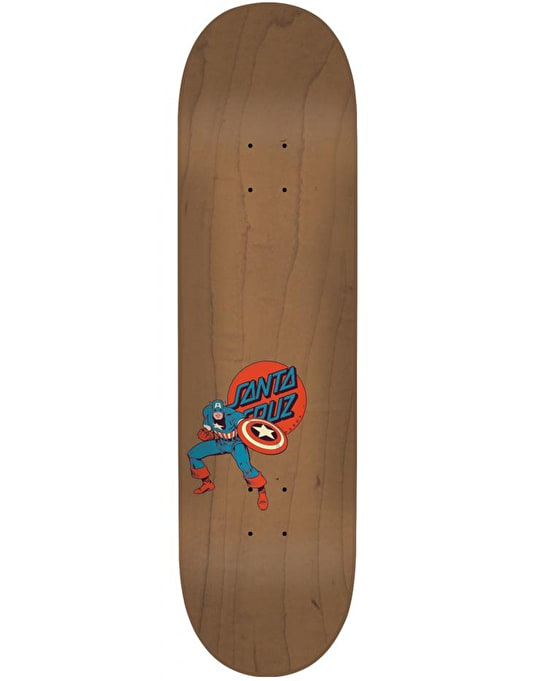 Santa Cruz x Marvel Captain America Hand Team Deck - 8.26""