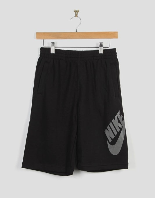 Nike SB French Terry Logo Boys Shorts - Black