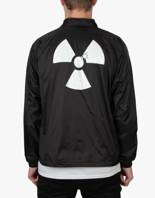 The Hundreds x Back to the Future Doc's Coach Jacket - Black
