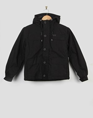 Globe Goodstock Parka II Boys Jacket - Black