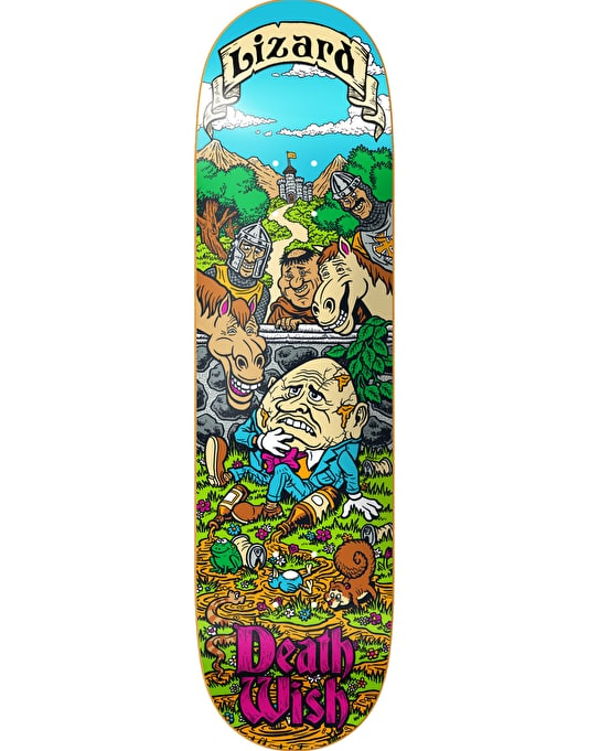 Deathwish Lizard King Story Time Pro Deck - 8.125""