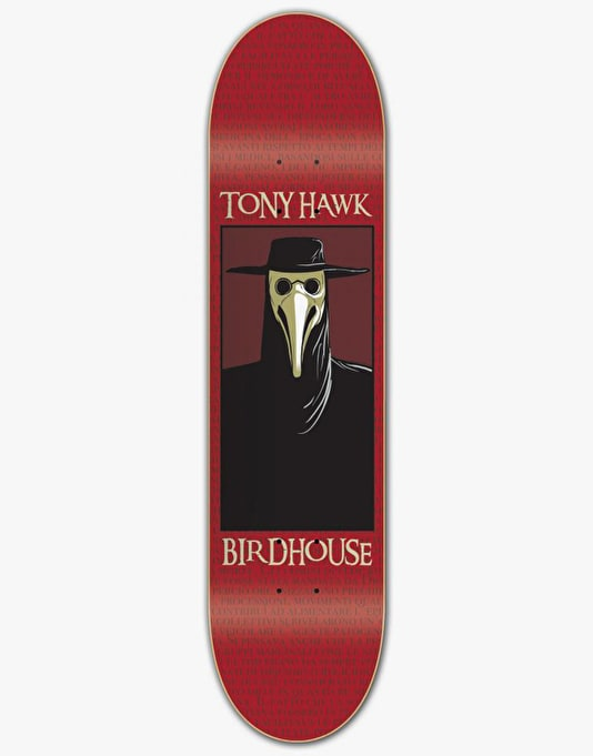 Birdhouse Hawk Plague Doctor Pro Deck - 7.75""