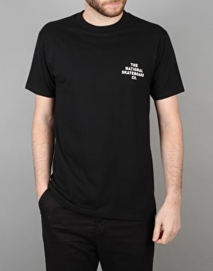 The National Skateboard Co. Republique T-Shirt - Black