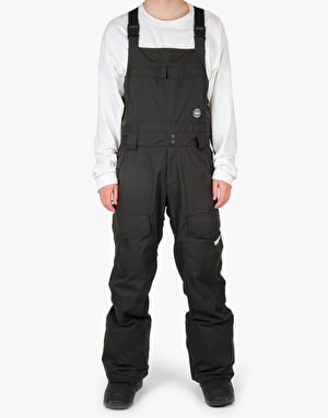 Thirty Two Basement Bib 2016 Snowboard Pants - Black/Black