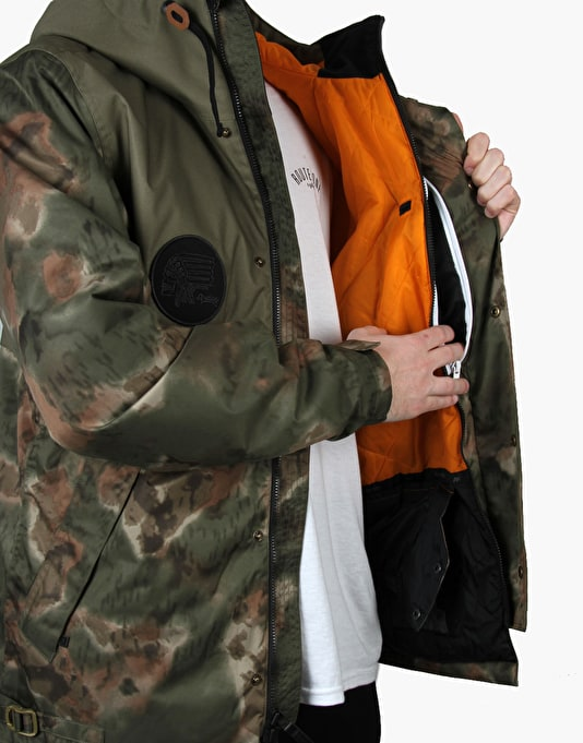 Analog Shoreditch 2016 Snowboard Jacket - Ink Blot Camo