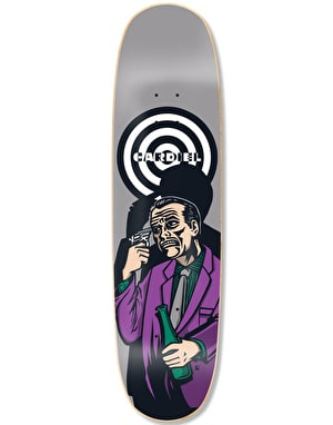 Black Label Cardiel Breaking Point Guest Skateboard Deck - 8.6