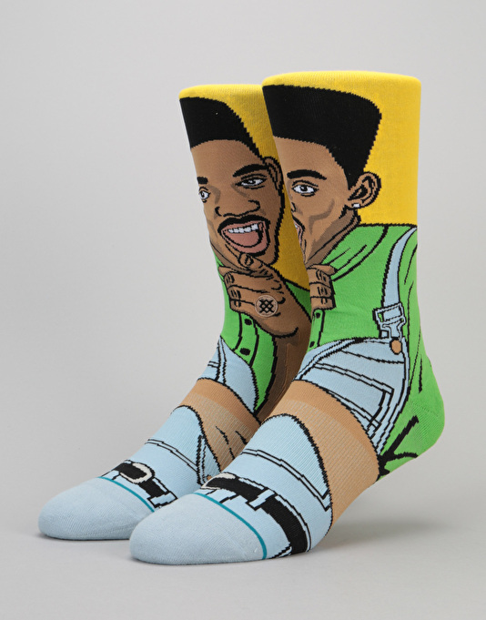Stance Will 200 Needle Socks - Yellow