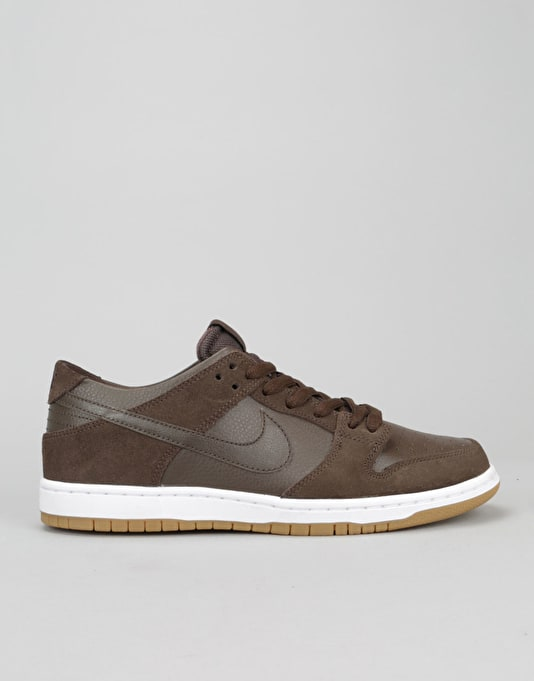 Nike SB Dunk Low Pro Ishod Wair Skate Shoes - Baroque Brown