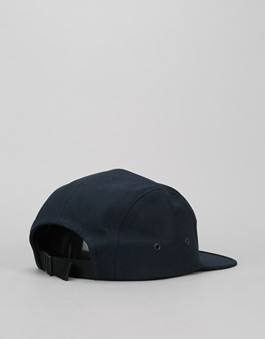 Carhartt Backley 5 Panel Cap - Navy