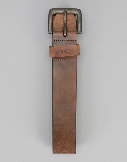 Levis Stinson Leather Belt - Medium Brown