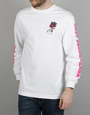 Obey Modern Love L/S T-Shirt - White
