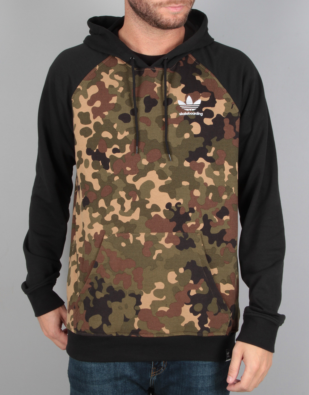 adidas climacool 2 0 cmo pullover hoodie camo print. Black Bedroom Furniture Sets. Home Design Ideas