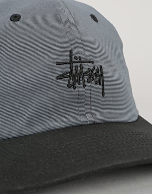 Stüssy Mini Houndstooth Cap - Black