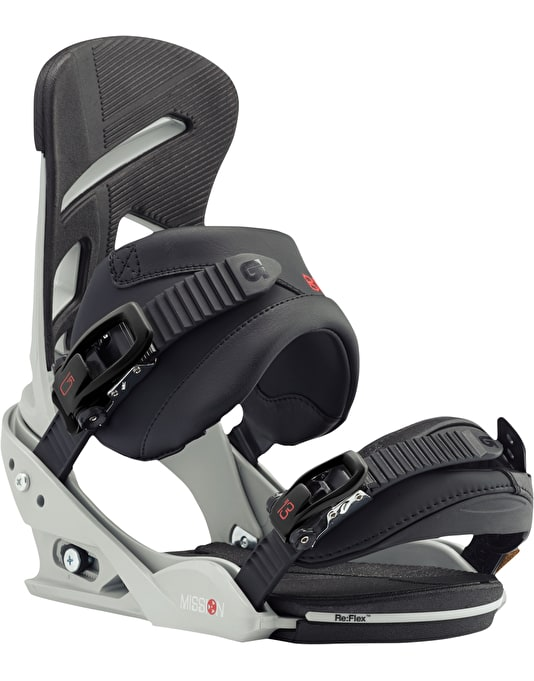 Burton Mission Re:Flex 2017 Snowboard Bindings - Gnarly Sheen