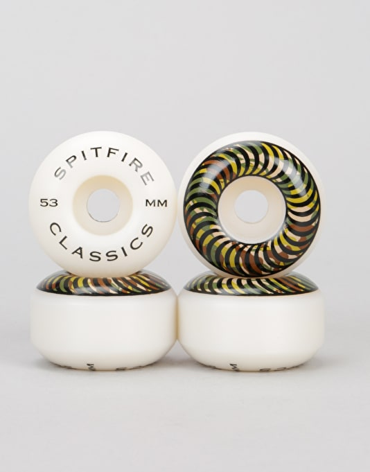 Spitfire Camo Classics 99d Team Wheel - 53mm