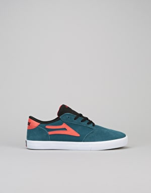 Lakai Pico Boys Skate Shoes - Ink Blue Suede