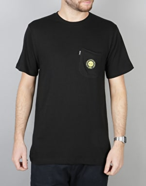 RIPNDIP Smile Alien Pocket T-Shirt - Black