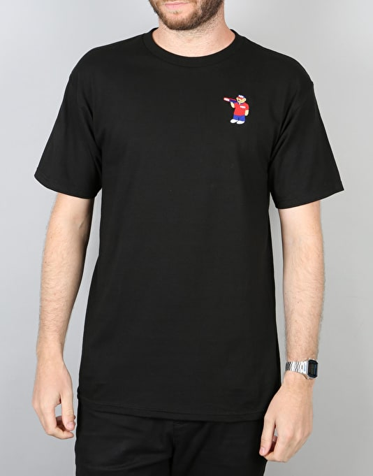 Pizza Bear T-Shirt - Black