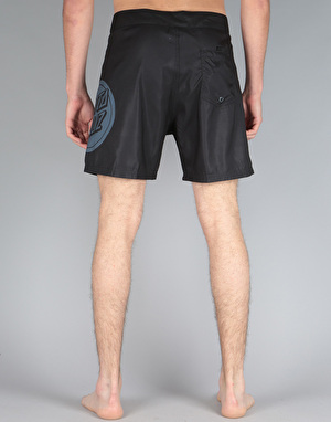 Santa Cruz Reverse Dot Board Short - Black