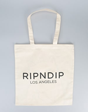RIPNDIP Lord Nermal Tote Bag - White