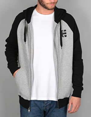 Etnies E-Corp Zip Hoodie - Grey/Heather