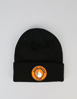 Doom Sayers Up Yours Beanie - Black/Orange