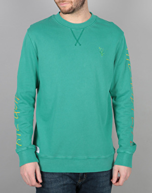 The Quiet Life Fade Crew Sweatshirt - Mint