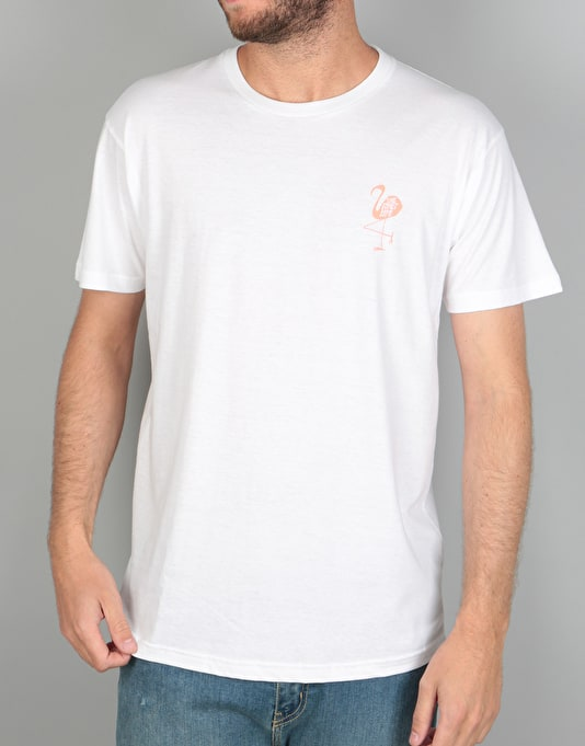 The Quiet Life Flamingo T-Shirt - White
