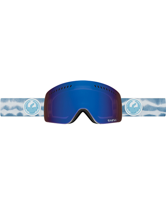 Dragon NFXs 2017 Snowboard Goggles - Onus Blue/Dark Smoke Blue
