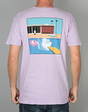 RIPNDIP  A Nermal Splash Pocket T-Shirt - Lavender