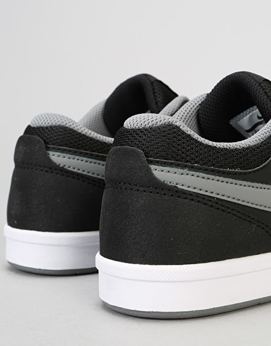 Nike SB Fokus Boys Skate Shoes - Black/Cool Grey/White