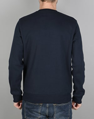 Carhartt Yale Sweat - Navy/White