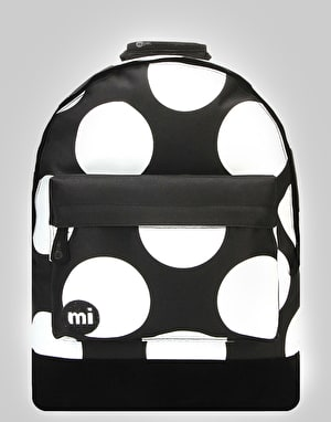 Mi-Pac Polka XL Backpack - Black/White