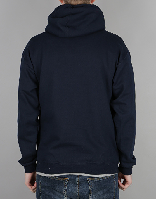 The Hundreds Forever Solid Bomb Crest Pullover Hoodie - Navy