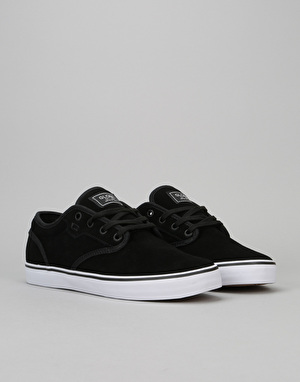 Globe Motley Skate Shoes - Black Suede
