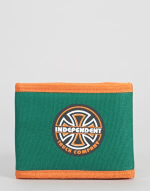 Independent BC Lines Wallet - Green/Orange
